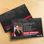 Keller Williams Business Card Template – BC1861BL-KW