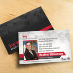 Keller Williams Business Card Template – BC1861WB-KW