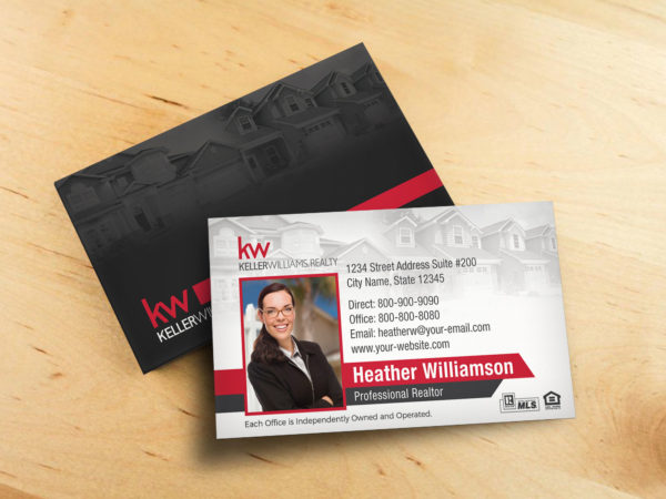 Keller Williams Business Card BC1861WB-KW