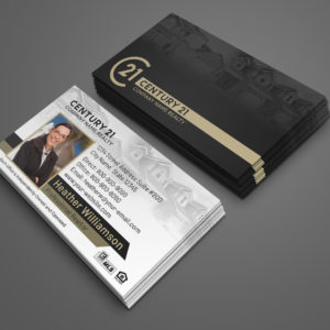 Century 21 Business Card Template – BC1861WB-C21