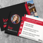 Keller Williams Business Card Template BC19702KW