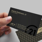 Century 21 Business Card Template – BC2075C21