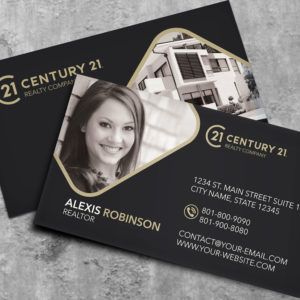 Century 21 Business Card Template – BC2070B-C21