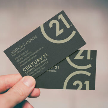 Century 21 Business Card BC1909011C21