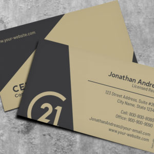 Century 21 Business Card Template – BC191201