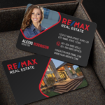Remax Business Card Template – BC2070B-REMAX