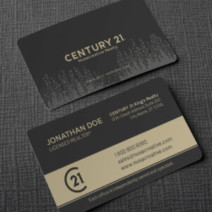 Century 21 Business Card Design Template BC200901