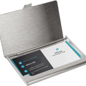 SunplusTrade Professional Metal Business Card Holder