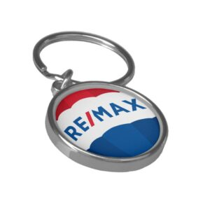 Remax Round Button Keychain