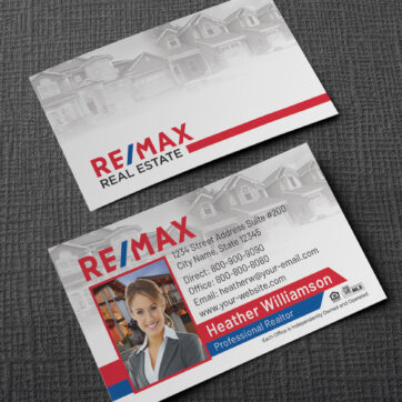 Remax Business Card Template BC1861WRM