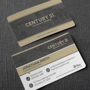Century 21 Business Card Design