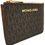 Michael Kors Jet Set Travel Small Top Zip Coin Pouch with ID Holder