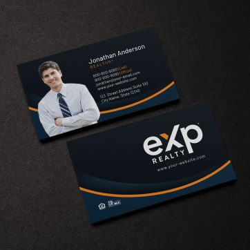 EXP Realty Business Card BC21030